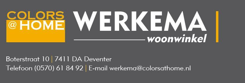 Logo Colors @ Home Werkema