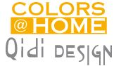 Logo Colors@Home Wolf