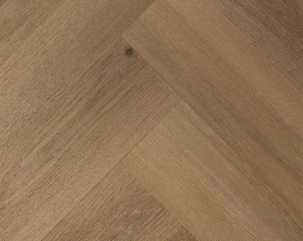 Tarkett visgraat PVC iD Supernature Forest Oak Syrup
